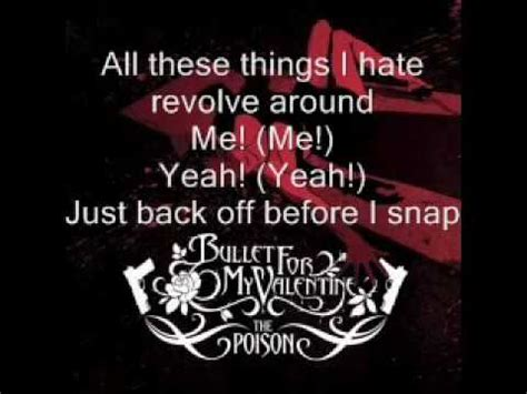 all these things i bullet for my lyrics all these things i bullet for my flv