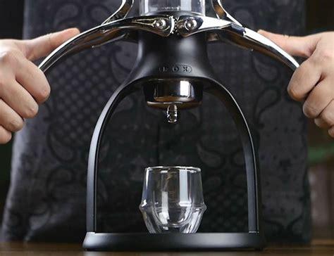 Espresso Manual Rok Presso Design By Original rok espresso maker with a manual non electric design review 187 the gadget flow