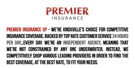 Cheap Car Insurance Knoxville Tn by Premier Insurance Knoxville Tn Home And Auto Insurance
