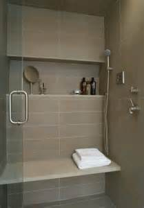 bathroom niche ideas shower shelf large tile bench bath