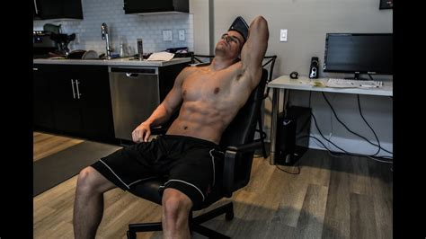 ultimate office chair ab workout no excuses brendan meyers