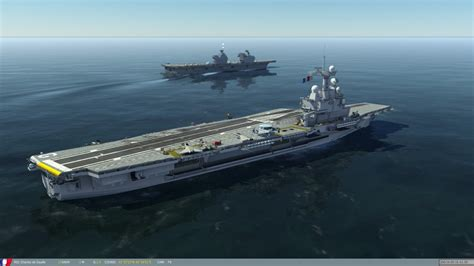 aircraft carrier charles de gaulle r 91 and pa2 r92