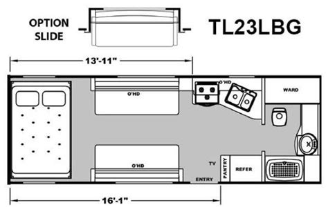 attitude toy hauler floor plans 2013 eclipse attitude tl23lbg travel trailer tucson az