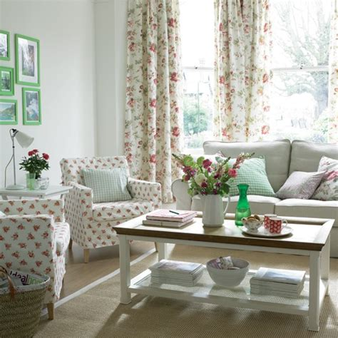 Country Chic Living Room by Country Living Room Housetohome Co Uk
