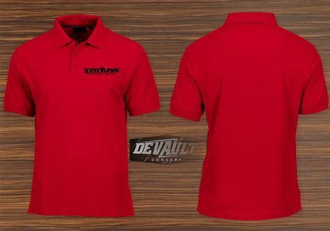 jual kaos polo shirt kerah instagram logo depan belakang