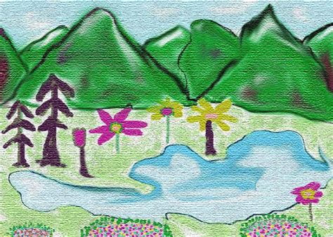 painting for 9 year olds shehjar web magazine for kashmir paintings by
