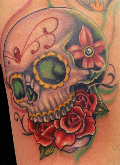 candy skull tattoos designs mesmerizing mexican sugar skull collection