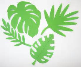 jungle leaves template cake ideas and designs