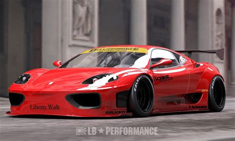 Ferrari 360 Tuning by Tuning News Ferrari 360 Modena In Full Liberty Walk Attire