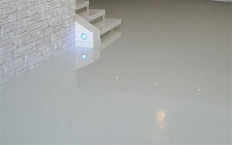 pure white epoxy floor arkdeko design epoxy coatings
