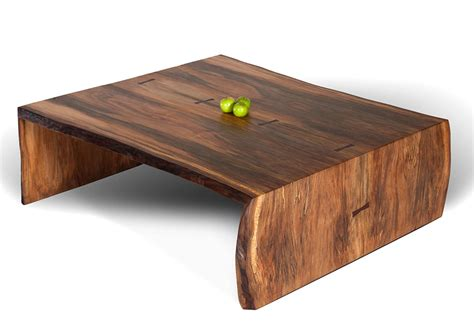 Low Wooden Coffee Table Sycamore Low Coffee Table Sustainable Wood Furniture David Stine Furniture In St Louis Mo