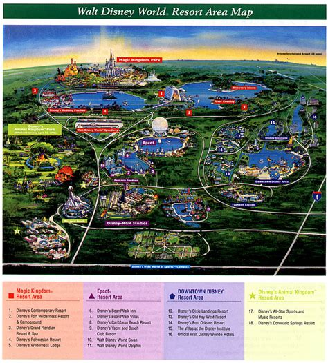 disney world orlando map with hotels walt disney world resort map compare hotel discounts and