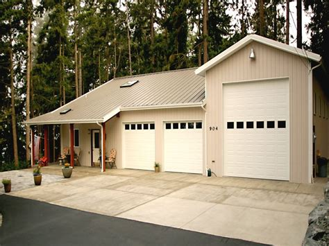 custom home garage custom home builder post frame home and cabin