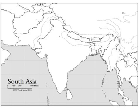 south asia map quiz south asian countries map