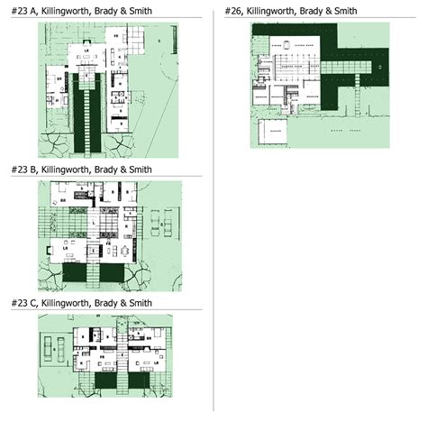 case study houses floor plans case study houses archigraphie