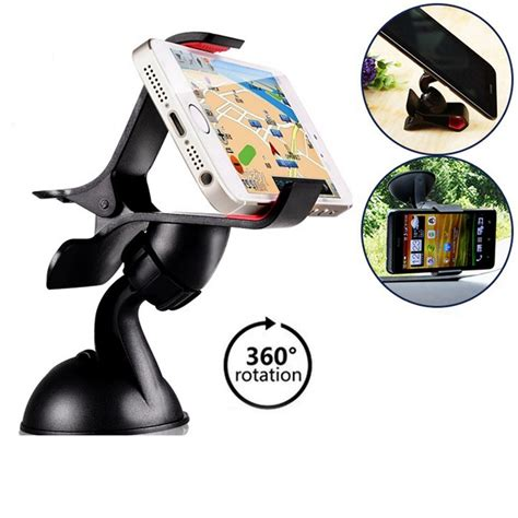 Sale Car Mount Holder For Samsung Galaxy S3 Ch403 Black 360 gps car windshield mount phone holder bracket stand gps cover for iphone 5 6 6s plus