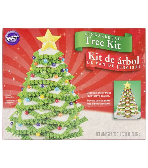gingerbread tree cookie kit christmas tree jo ann