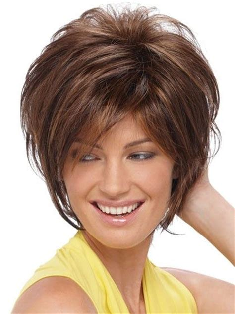 shaggy bob haircuts round face 199 best images about hair cuts for fine hair on pinterest