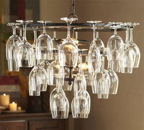 Unusual Mirrors For Living Rooms by Wine Glass Rack Chandelier Industrial Chandeliers By