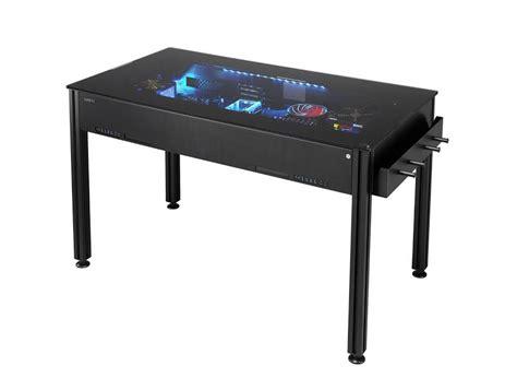 Meja Komputer Mangga Dua lian li memperlihatkan dua model baru meja merangkap cangkerang komputer amanz