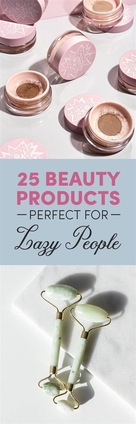 products for lazy people 25 low maintenance beauty tips and products made for lazy