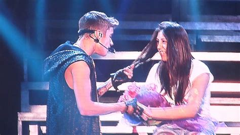 One Less Lonely Says Biebers Baby by One Less Lonely Justin Bieber Chile Believe Tour
