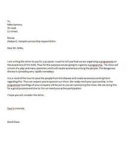 free sponsorship template 41 free sponsorship letter sponsorship