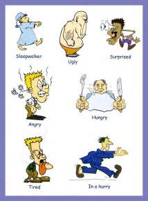 English adjectives pictures to pin on pinterest