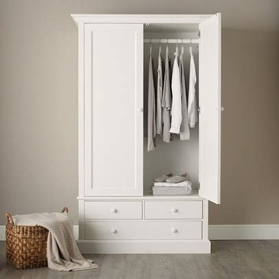 classic large wardrobe bedroom furniture  white