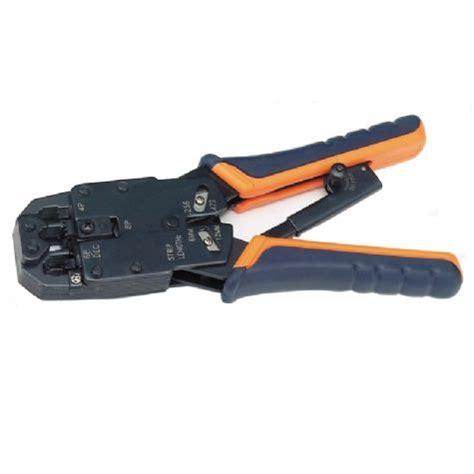 Murah Hs Crimping Tool Besi Rj45 Rj11 rj11 rj12 rj45 ratchet crimping tool