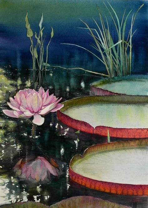 watercolor lotus tutorial 1434 best images about art watercolor flowers on pinterest