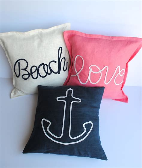 Nautical Pillow Covers by Kitchen Dining