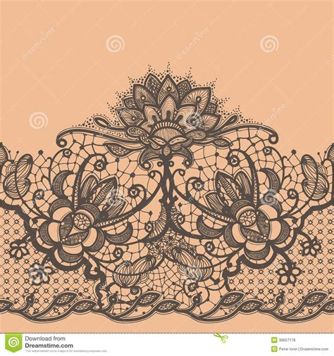 abstract lace ribbon stock vector image of graphic