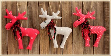 prim tree gifts home decor set of 3 toys reindeer christmas decor winter d 233 cor gift