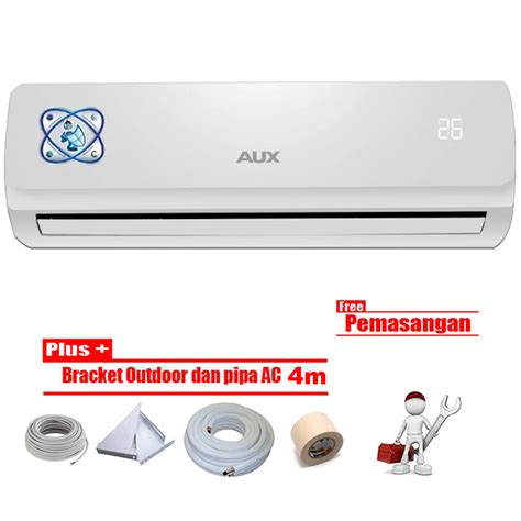 Ac Aux Bekas aux ac split 1 2 pk asw 05 suer standard r 410 putih