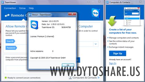 Lisensi Teamviewer Premium Versi Terupdate teamviewer 10 0 43174 premium free software terbaru