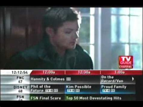 tv guide s supernatural page with tv listings tv guide channel supernatural smallville 2006 youtube