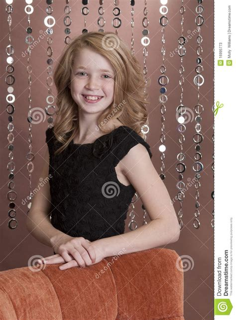 preteen young preteen model 3 stock image image of female girl studio