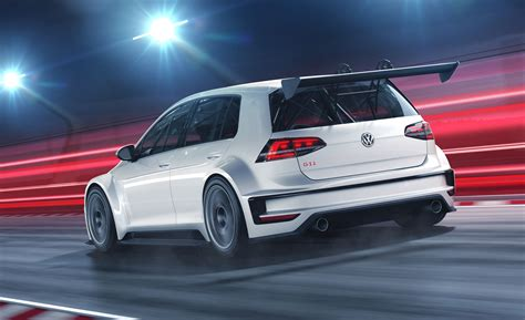 volkswagen gti racing vw golf race car gets the gti treatment customer racing