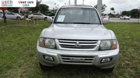 car owners manuals for sale 2004 mitsubishi montero security system for sale 2004 passenger car mitsubishi montero limited hollywood insurance rate quote price