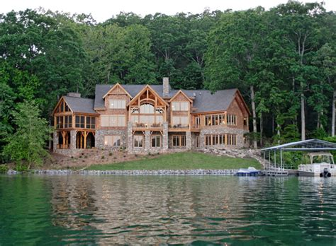 Luxury Lake Home Plans | luxury lake retreat architectural designs house plan 26600gg rustic exterior other metro