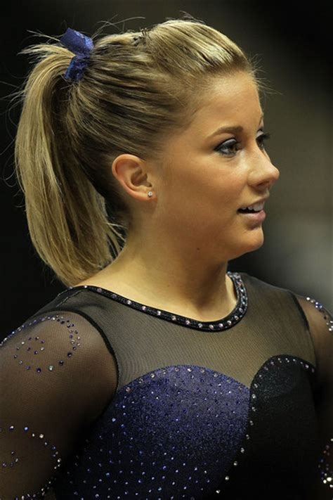 short hair gymnastics style shawn johnson ponytail shawn johnson looks stylebistro