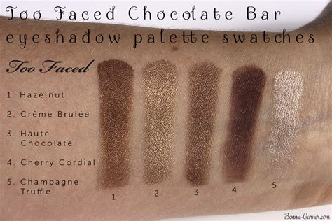 Faced Chocolate Bar Eye Shadow faced chocolate bar eyeshadow palette my review
