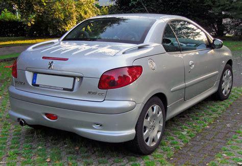 peugeot 206 cc file peugeot 206 cc 20090612 rear jpg wikipedia
