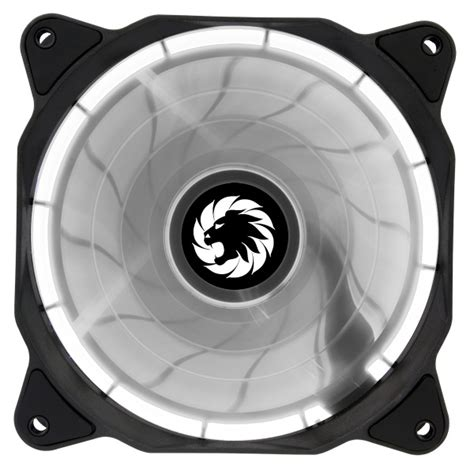 Da Gaming Led Cooling Fan 12 Cm max eclipse white ring led 12cm cooling fan with