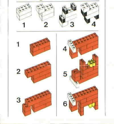 printable lego animal instructions lego farm set instructions 197 building set with people