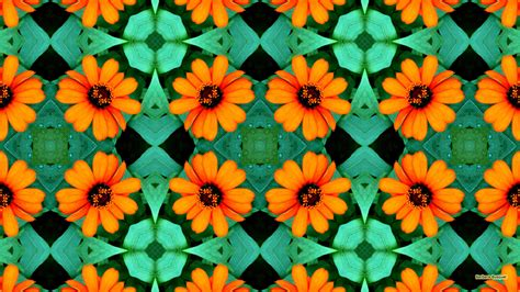 flower pattern hd wallpaper orange flowers barbaras hd wallpapers