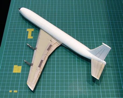Benja En Longtop Jumbo b707 328b air 1960 minicraft 1 144