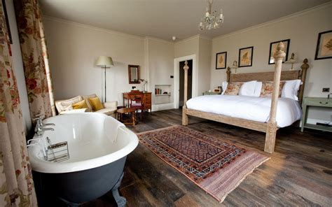 bath in bedroom hotel the pig near bath hotel review somerset travel
