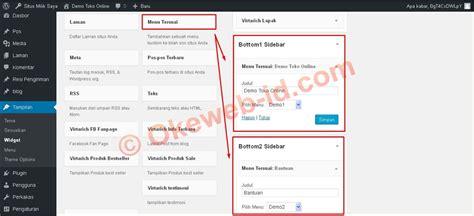 tutorial membuat website berita tutorial mengatur sidebar oke web indonesia